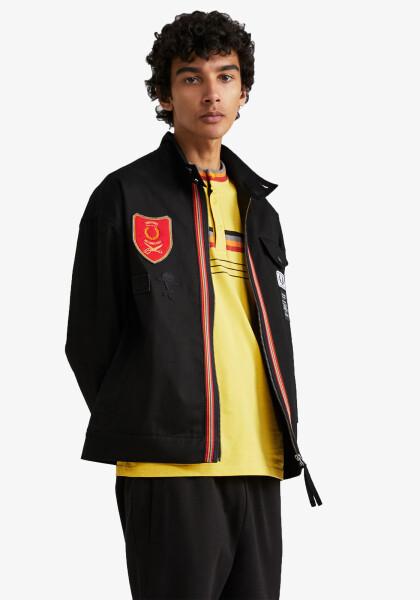 ART COMES FIRST HARRINGTON JACKET
