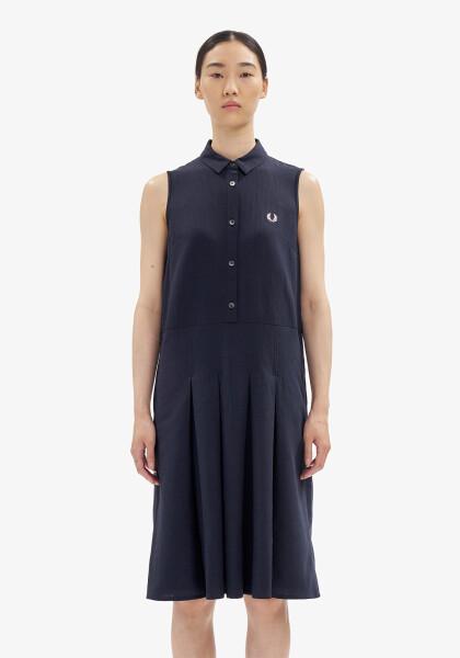 【NEW ARRIVAL】SLEEVELESS SHIRT DRESS