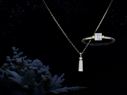 2021 Winter Limited Necklace&Ring