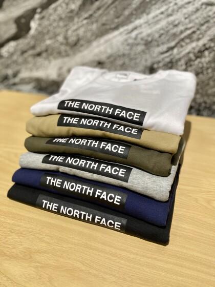 ノースフェイス半袖Tシャツ入荷!