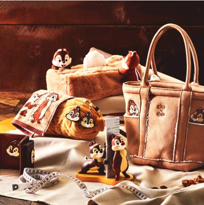 チップ&デールと一緒に暮らしているような気分♪秋冬にぴったりのライフスタイル雑貨が 10 月 12 日(火)より順次発売