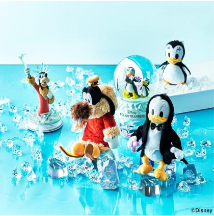 短編アニメーション『ドナルドの南極探検』がモチーフ!