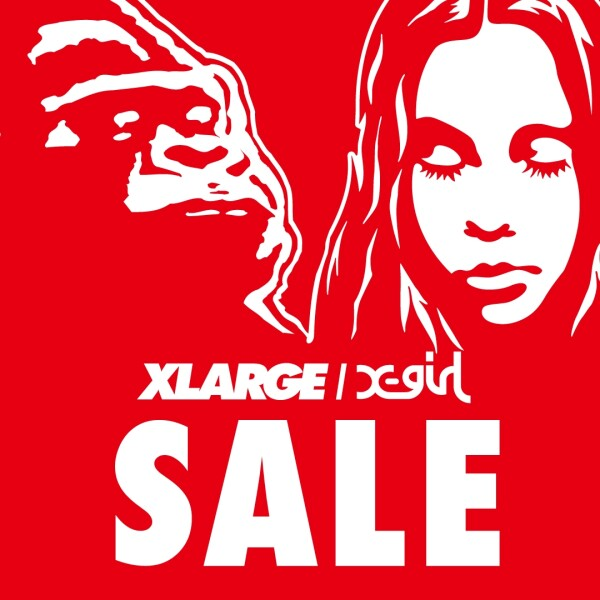 【XLARGE/X-girl】2020 SUMMER SALE