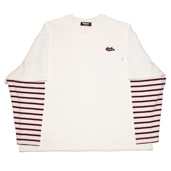New Arrival!! - Fake layered L/S TEE