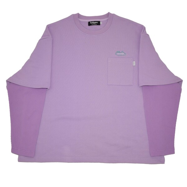 New Color!! - Fake layered Crew sweat -