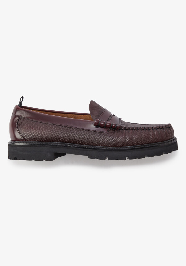 G.H.BASS TXT PENNY LOAFER