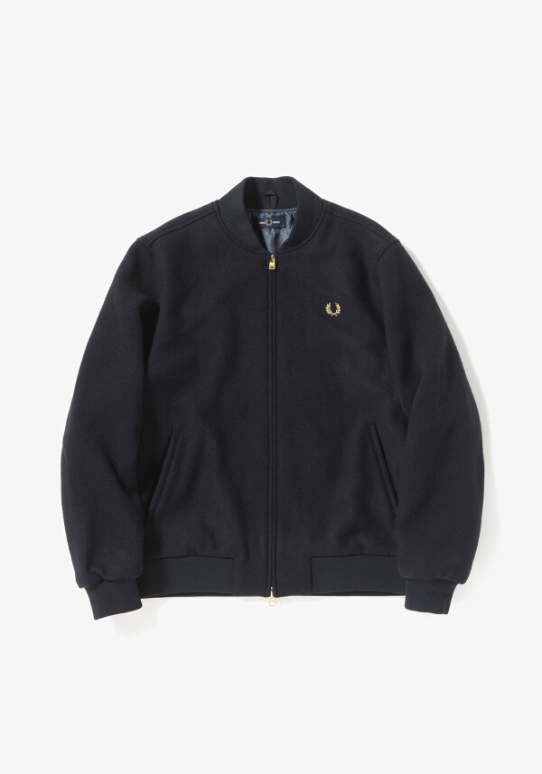 MELTON BOMBER JACKET