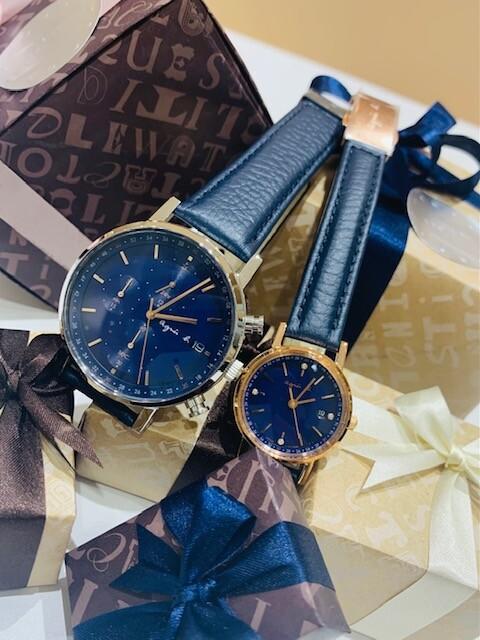 【アニエスべー】腕時計で素敵なクリスマスを!