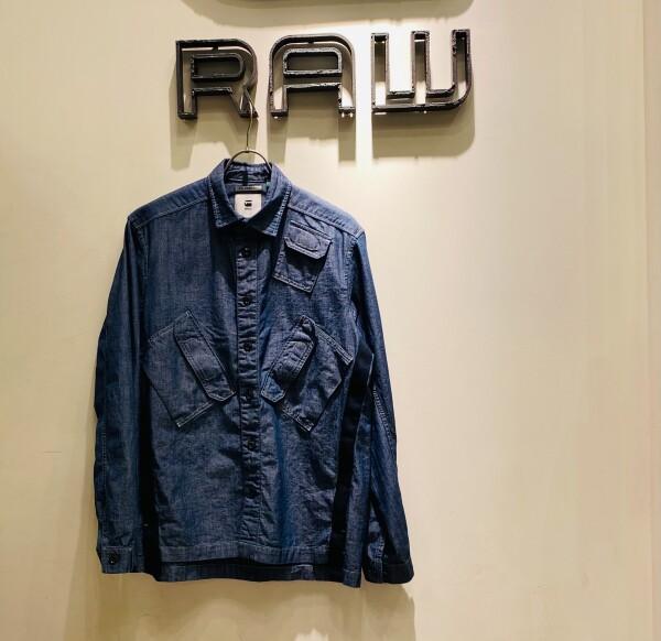 マルチスラントポケットシャツ