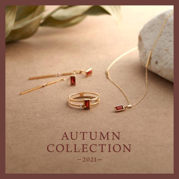 """【新作情報】2021 Autumn Collection """"Garnet"""""""