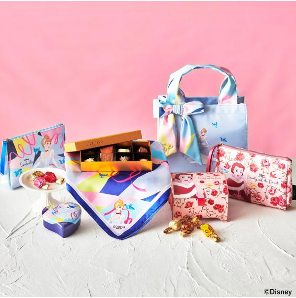 高級チョコレートブランド「GODIVA(ゴディバ)」と ディズニーストアの初の共同企画商品が1月5日(火)に登場!