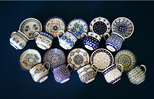 10 Mugs&Mini Bowls  Boleslawiec×Madu