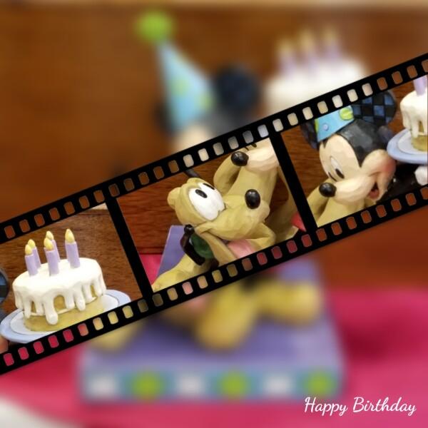 「プルートの誕生日」ディズニーフィギュア