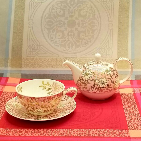 「Tea for one」紅茶を楽しむ