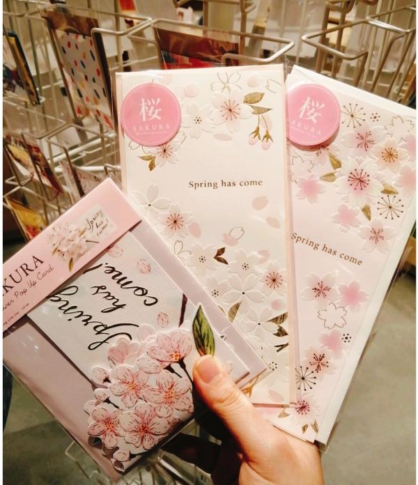 桜カードが入荷しました!