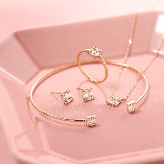 【新作】日常をクラスアップする、K18×ダイヤモンドが魅せるラグジュアリーな煌めき。